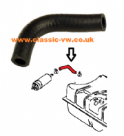 Mk1 Golf Fuel Tank Hose 90 Degree 171201311D